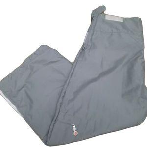 Lululemon Cropped Gray Capris Pant